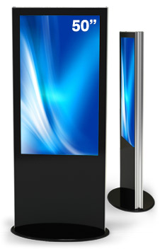 digital kiosk lamina double sided