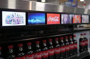 merchandising video display