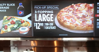 digital menus - promote specials