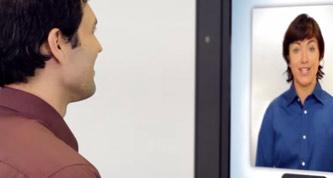 face to face kiosk
