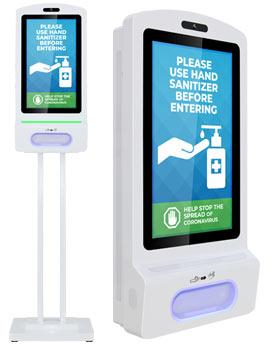 hand sanitizer kiosk 22 nav