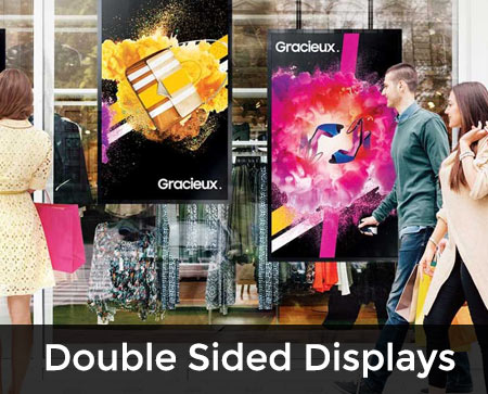 Double Sided digital signage