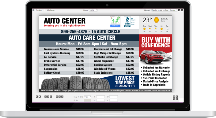 automotive-screen